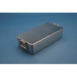 Caja instrumental Ac.Inox 23x13x5 cm