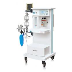 Equipo de anestesia inhalatoria con respirador automático