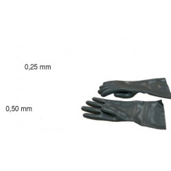 Guantes protectores R-X 0,25 mm